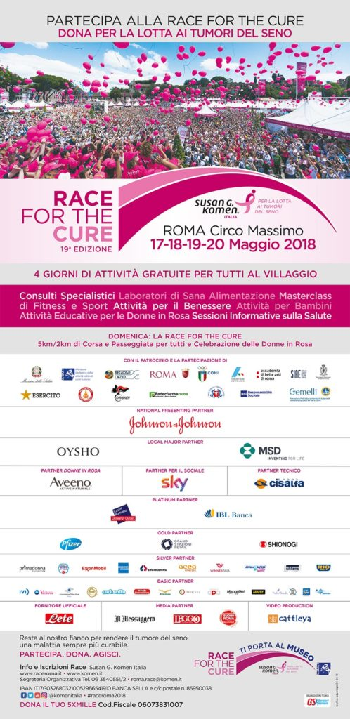 Roma Race for the Cure 2018